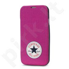 Samsung Galaxy S5 dėklas CONVERSE Ascendeo rožinis