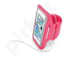 Sportinis dėklas ant rankos Fit 5.2 Cellular rožinis