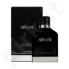 Giorgio Armani Eau de Nuit, tualetinis vanduo vyrams, 100ml, (testeris)