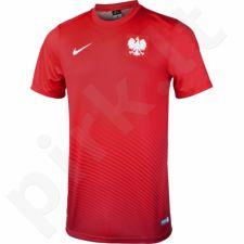 Marškinėliai futbolui Nike Polska Away Supporter 2016 M 724632-611