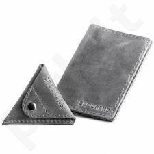 Odinis dėklas dokumentams + piniginė monetoms BRODRENE SCW01