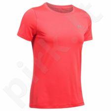 Marškinėliai treniruotėms Under Armour HeatGear Short Sleeve W 1285637-963