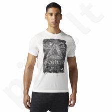 Marškinėliai treniruotėms Reebok Be More Human M BQ8255