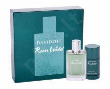 Davidoff Run Wild, rinkinys tualetinis vanduo vyrams, (EDT 100 ml + pieštukinis dezodorantas 75 ml)