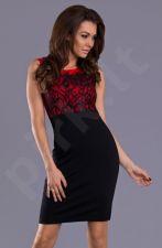 Emamoda suknelė - raudona 9207-2