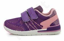 D.D. step violetiniai sportiniai bateliai 26-31 d. csg-077dm