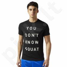 Marškinėliai Reebok Dont Know Squat M BQ8288