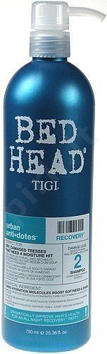 Tigi Bed Head Recovery atkuriamasis šampūnas , 250ml