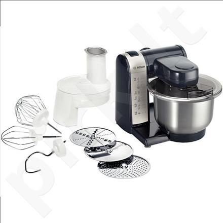 Bosch MUM48A1 Kitchen Machine, 600W, 4 Speeds, Multi-Motion-Drive, Adjustable slicing disc