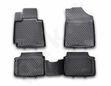 Guminiai kilimėliai 3D HYUNDAI Veloster 2012-> 4 pcs. /L27070
