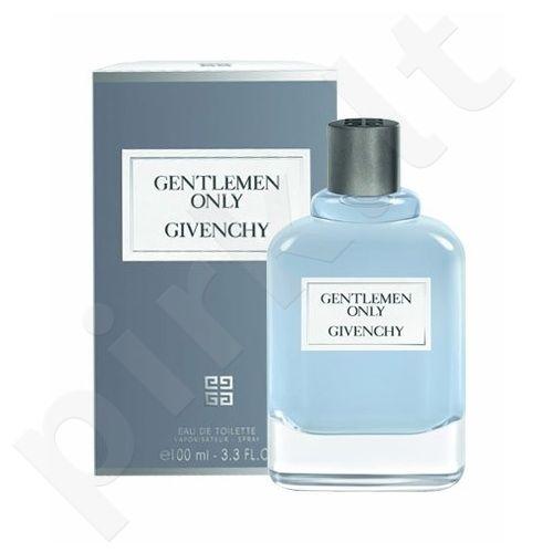Givenchy Gentlemen Only, tualetinis vanduo vyrams, 100ml, (testeris)
