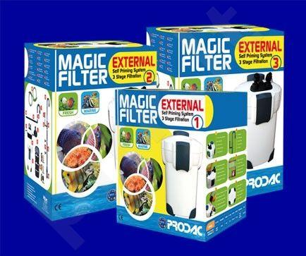 PRODAC Magic išoriniai filtras 3 2000l/h;500-800 lts su UV lempa