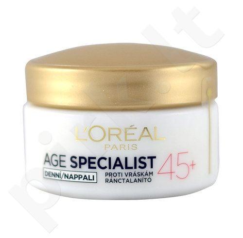 L´Oreal Paris Age Specialist 45+ dieninis kremas, kosmetika moterims, 50ml