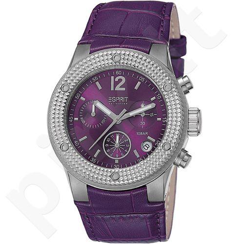 Esprit EL101282F03 Anteress Purple moteriškas laikrodis Chronograph
