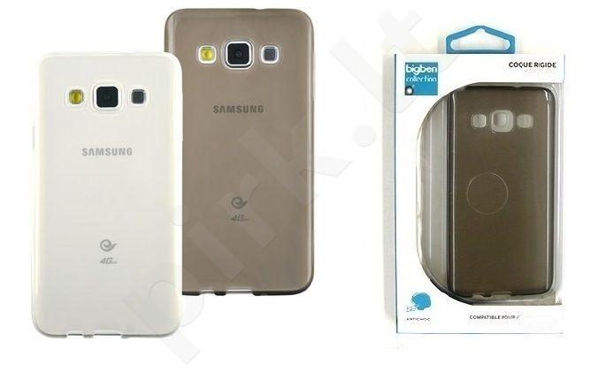 Samsung Galaxy A3 dėklas 2 SEMI Bigben permatomas