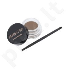 Makeup Revolution London antakių gelis With Double Ended Brush, kosmetika moterims, 2,5g, (Blonde)
