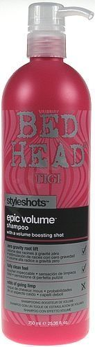 Tigi Bed Head Epic Volume purinamasis šampūnas, 250ml
