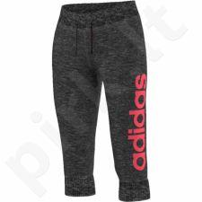 Sportinės kelnės Adidas Essentials Linear 3/4 W AJ4588