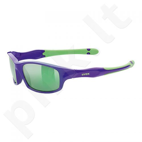 Akiniai vaikams Uvex Sportstyle 507 violetinė-žalia