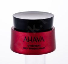 AHAVA Apple Of Sodom, Overnight Deep Wrinkle Mask, veido kaukė moterims, 50ml