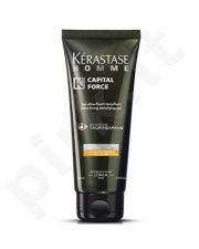 Plaukų gelis vyrams Kerastase Homme Capital Force Fixing Densifying Gel, 200ml
