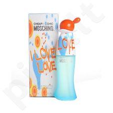 Moschino I Love Love, tualetinis vanduo (EDT) moterims, 100 ml (Testeris)