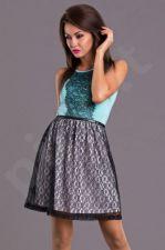 Emamoda suknelė - mėtų spalva 7103-2