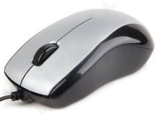 Gembird Optical mouse 1000 DPI, USB, silver-black