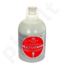 Kallos Multivitamin Energising šampūnas, kosmetika moterims, 1000ml