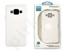 Samsung Galaxy A3 dėklas SEMI-RIGIDE Bigben baltas