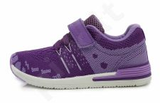 D.D. step violetiniai sportiniai bateliai 26-31 d. csg-078dm