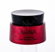 AHAVA Apple Of Sodom, Advanced Deep Wrinkle Cream, dieninis kremas moterims, 50ml