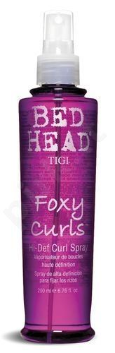 Tigi Bed Head Foxy Curls Hi Def. plaukų lakas, 200ml