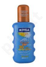 Nivea apsauga nuo saulės & Bronze purškiklis SPF30, kosmetika moterims, 200ml