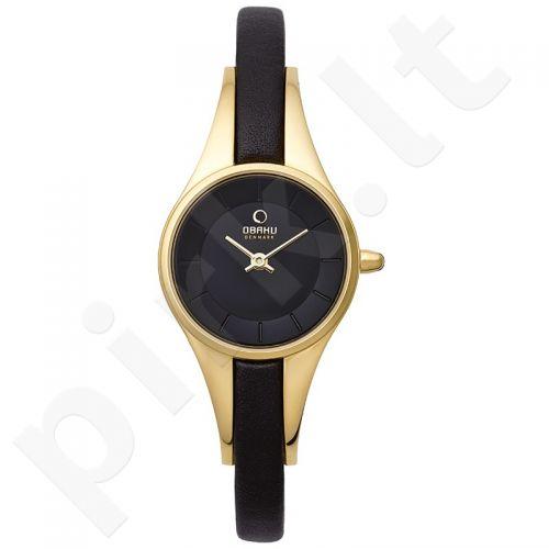 Moteriškas laikrodis OBAKU OB V110LGBRB