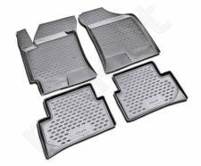 Guminiai kilimėliai 3D HYUNDAI Coupe 2001-2008, 4 pcs. /L27018G /gray
