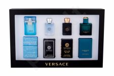 Versace Mini Set 1, rinkinys tualetinis vanduo vyrams, (EDT Eros 5 ml + EDT Dylan Blue 5 ml + EDT Versce Pour Homme 5 ml + EDT Man Eau Fraiche 5 ml)