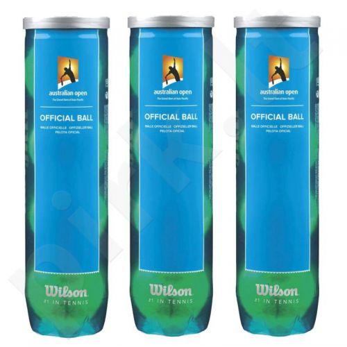 Teniso kamuoliukai Wilson Australian Open 4 Ball  (4 vnt)