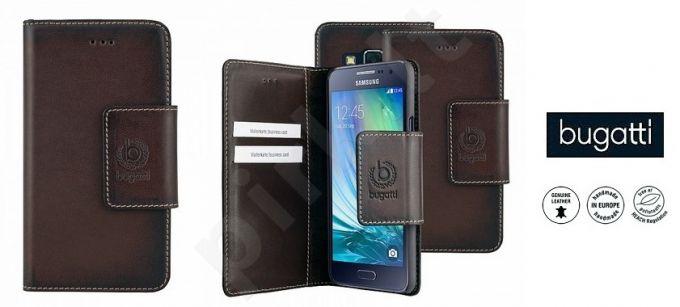 Samsung Galaxy A3 atverčiamas dėklas AMSTERD Bugatti v.rudas