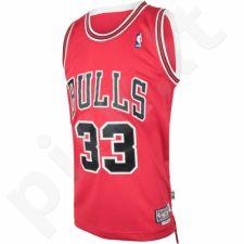 Marškinėliai krepšiniui Adidas Swingman Chicago Bulls Retired Scottie Pippen M AT2362