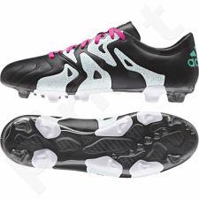 Futbolo bateliai Adidas  X 15.3 FG/AG M Leather AF4755