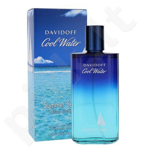 Davidoff Cool Water Summer Seas, EDT vyrams, 125ml