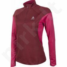 Marškinėliai bėgimui  ODLO Midlayer 1/2 Zip Versilia W 347811/30273