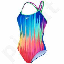 Maudymosi kostiumėlis Speedo Endurance Plus Rhythm Ripple Placement W 8-10626B143