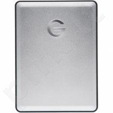 External HDD G-DRIVE mobile, 2.5'', 2TB, USB 3.0, silver