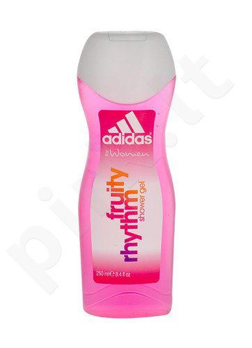 Adidas Fruity Rhythm, dušo želė moterims, 250ml