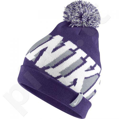 Kepurė  Nike Seasonal Pom Junior 718797-547