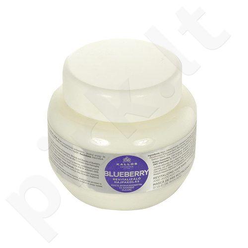 Kallos Blueberry plaukų kaukė, kosmetika moterims, 275ml