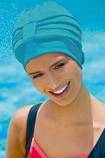 Kepuraitė plaukimui Fabric Swim PE 3473 52 turq