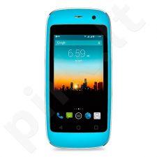Telefonas POSH Micro X + europinis pakrovėjas mėlynas